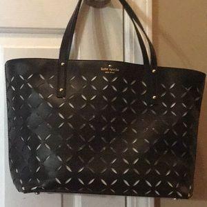 Kate Spade Spice Market leather tote handbag♠️
